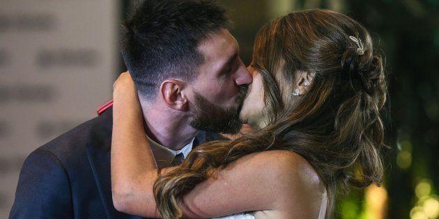 La boda de Leo Messi y Antonella Rocuzzo en