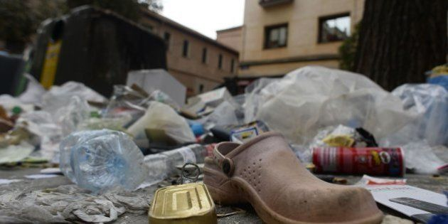 La huelga de limpieza de Madrid no tiene visos de acabar y la ciudad está así