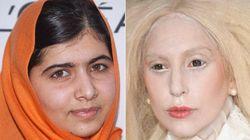¿Qué tienen en común Malala y Lady Gaga?