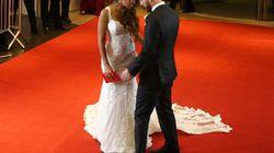 El comentado gesto de Messi con el vestido de su