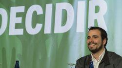 Alberto Garzón, confirmado como cabeza de IU para las