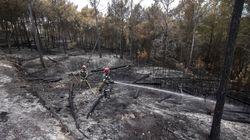 Emergencias da por controlado el incendio en la Sierra de la Calderona