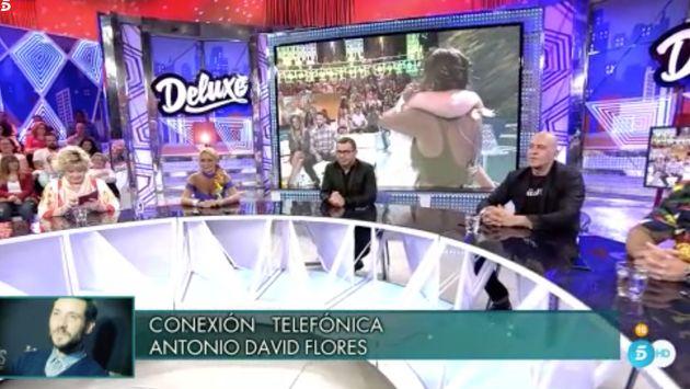 Antonio David desvela lo que no se vio de la primera aparición en televisión de su hija