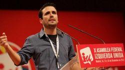 Alberto Garzón se presenta para encabezar la candidatura de IU a las