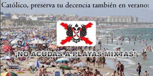 Un grupo carlista asturiano propone segregar las playas por sexos para evitar los pecados de la