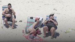 Críticas al gobernador de Nueva Jersey por tomar el sol en una playa que había cerrado al
