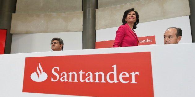La presidenta del Banco Santander, Ana Patricia
