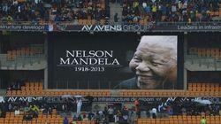 El adiós a Mandela, en
