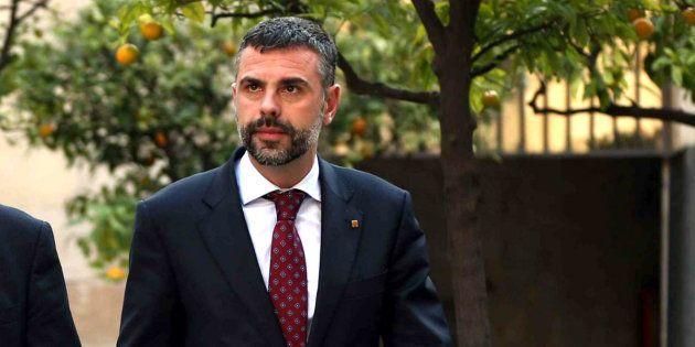 Santi Vila, hasta ahora consejero de Cultura, nuevo tiutular de Empresa y Conocimiento en Cataluña, en...