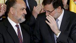 Rajoy, de bromitas con Rosa Díez y Toni Cantó: