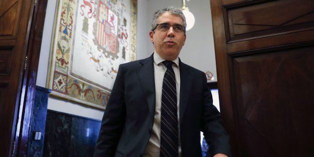 El exportavoz del Govern catalán y del PDCat en el Congreso, Francesc Homs, en una imagen de