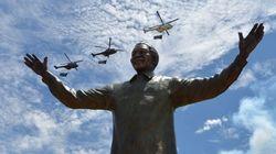 Una estatua de nueve metros como homenaje a Mandela (FOTOS,