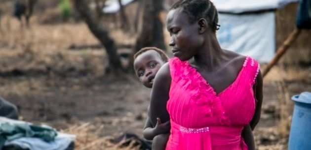 Esther Modong huyó de la violencia en Kajo Keji, Sudán del