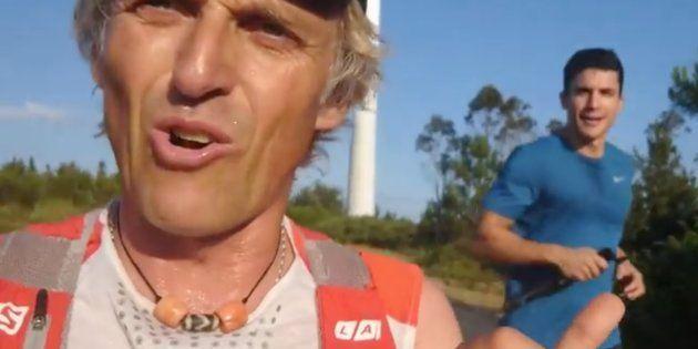Exteriores 'ficha' al aventurero Jesús Calleja para su campaña 'Viaja informado, viaja