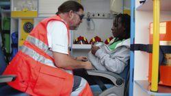 Desaparecidos 49 inmigrantes que iban a bordo de una patera hallada en el mar de