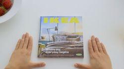 Ikea parodia a Apple en el anuncio de su nuevo catálogo