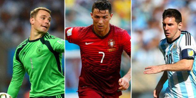 Balón de Oro 2014: Cinco razones de Cristiano, Messi y Neuer para ganar el