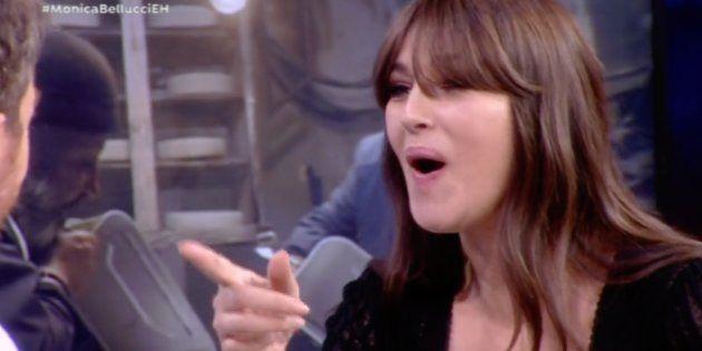 Así lidia con la envidia Monica Bellucci (pista: mucho mejor que Pablo