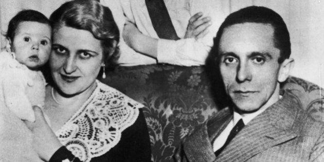 La mujer de Goebbels era