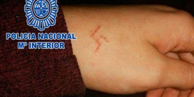 Seis detenidos en Madrid por marcar una esvástica a una chica con un objeto