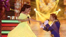 Beatriz Luengo y Blas Cantó emocionan en 'TCMS' al convertirse en la Bella y