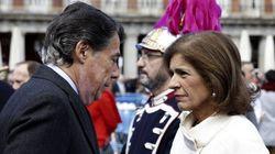 Ignacio González pide a la virgen que la recuperación