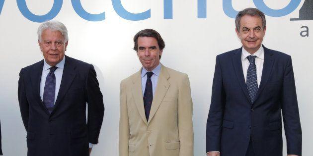 González, Aznar y