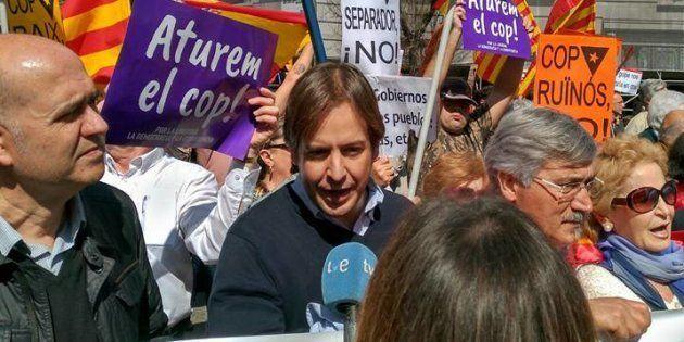 Cristiano Brown - Manifestación en Barcelona de