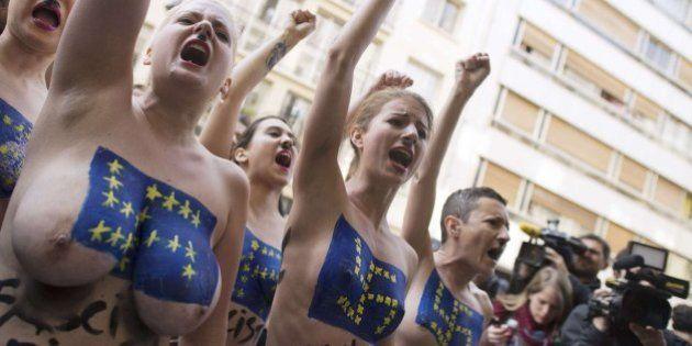 Marine Le Pen dice que las activistas de Femen son