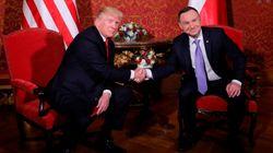 Trump, en Varsovia: