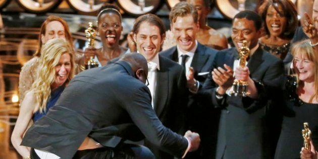 Los Oscars en GIFS: Lupita y Meryl Streep bailando y otros