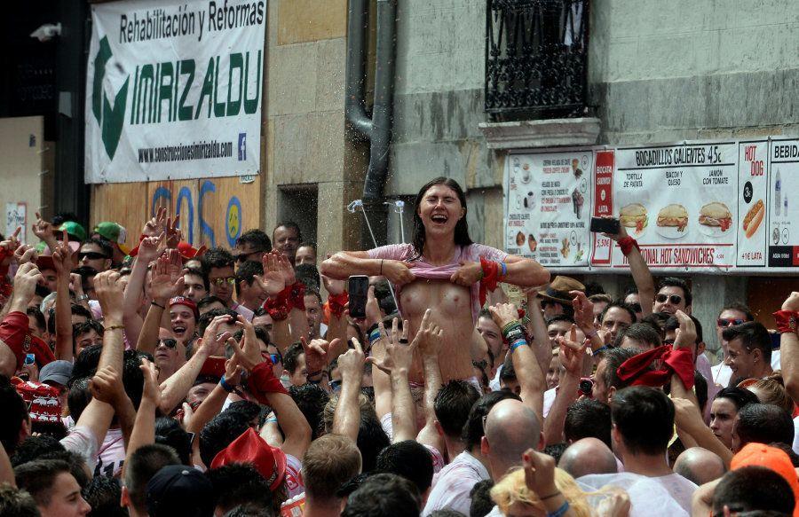 Las mejores fotos del Chupinazo: el primer protagonista de Sanfermines no da la