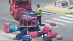 Un operario del aeropuerto de Ibiza, 'cazado' maltratando las