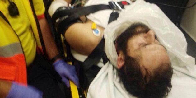 Fotografía facilitada por los Mossos d'Esquadra del hombre detenido por tirotear junto al tanatorio de...