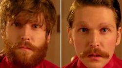 Una barbería anti-barbas promociona lo nuevo de Wes Anderson
