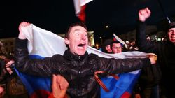 El 95,5% de los crimeos vota a favor de su adhesión a Rusia, según los primeros