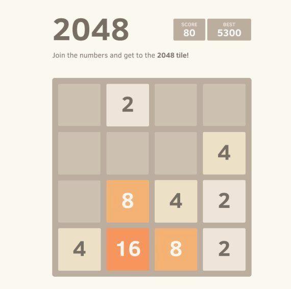 2048: el juego que puede terminar con tu productividad ahora