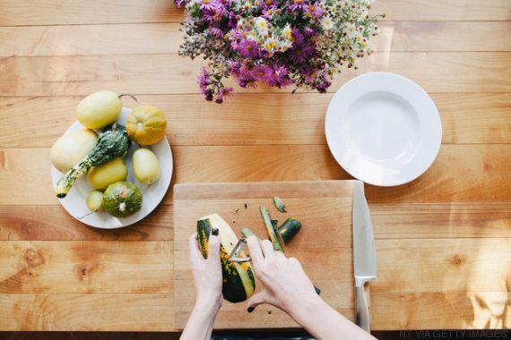 Cómo limpiar la tabla de cortar