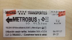 Metro de Madrid 'jubila' los billetes de