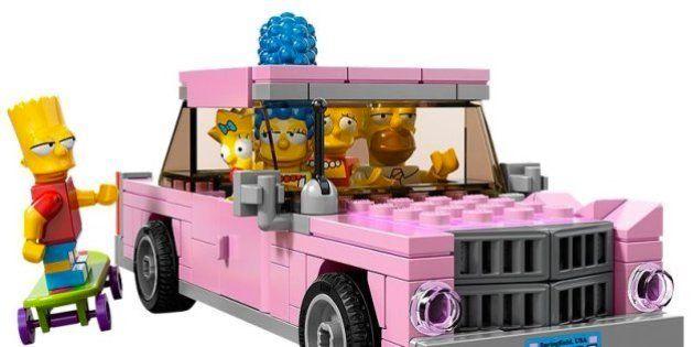 El Lego de Los Simpson: homenaje por su 25 cumpleaños