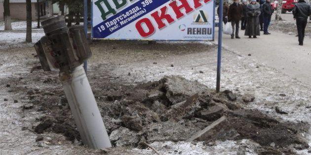 Al menos 45 muertos en Ucrania tras el alto el fuego y horas antes de la negociación de paz en