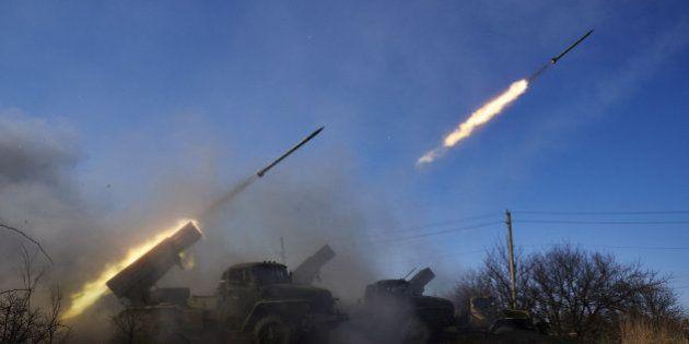 Decenas de muertos en Ucrania a pocas horas del alto el fuego