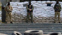 Los separatistas prorrusos continúan la ocupación de edificios