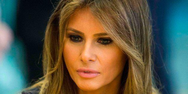 Imagen de archivo de la primera dama de EEUU, Melania