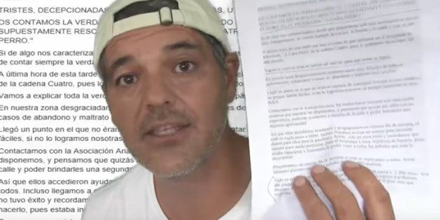 Frank Cuesta critica al programa 'A cara de perro' por una supuesta