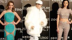 Los famosos sacan sus estilismos más extremos para el estreno de 'Zoolander