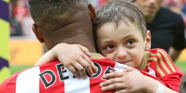 Muere Bradley Lowery, el niño enfermo de cáncer que conmovió al fútbol