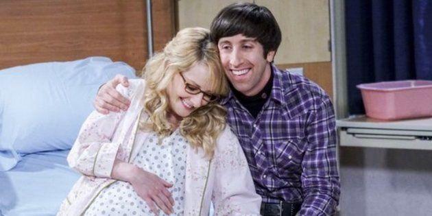 La razón por la que nunca se verá al bebé de Howard y Bernadette en 'The Big Bang