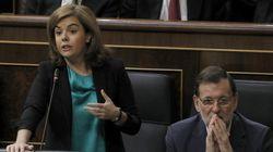 Así defiende Santamaría a Rajoy: