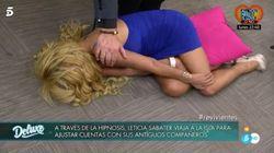 Cachondeo en redes por lo que hizo Leticia Sabater en 'Sábado